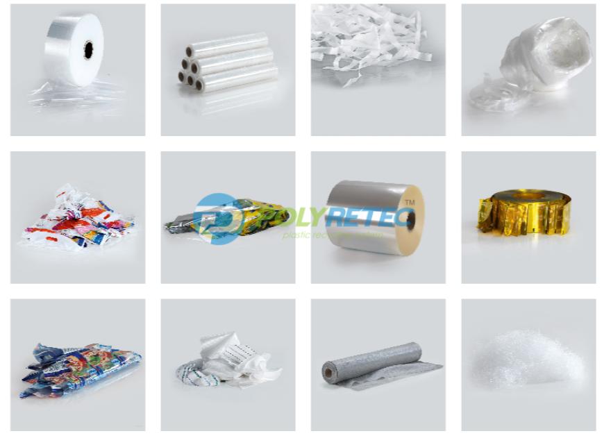 Plastic Film & Bags Granulating Line, Plastic Film Pelletizing Line