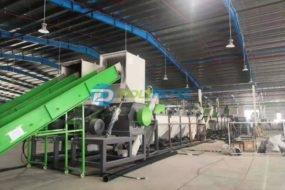 1.2 Ton/H film cleaning line is fully opened in Vietnam's customer factory